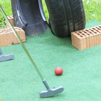 Cross Minigolf